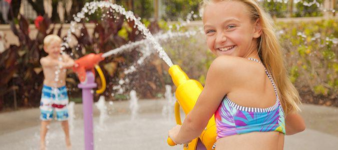Oasis Pool Splash Pad