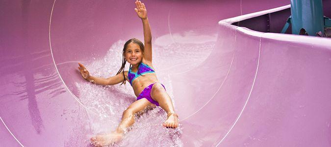 Oasis Pool Slide
