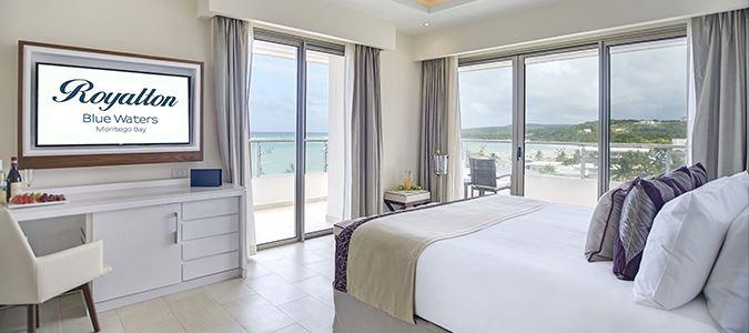Diamond Club Luxury Presidential Ocean View Two Bedroom Suite