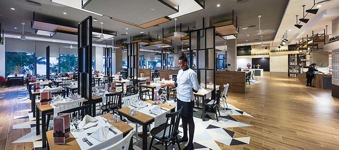 Italian Restaurant Rendering