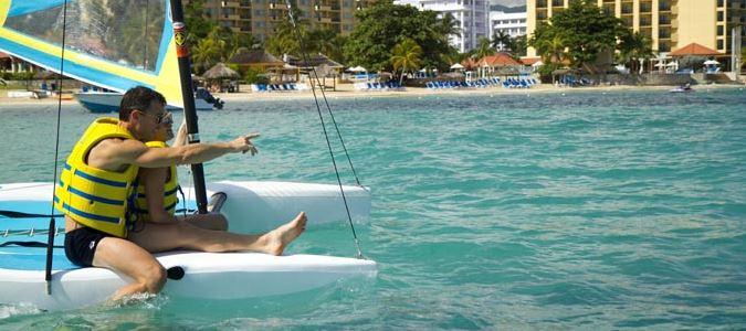 Complimentary Sunfish Sailing