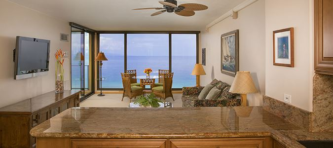 One Bedroom Standard Oceanfront Suite