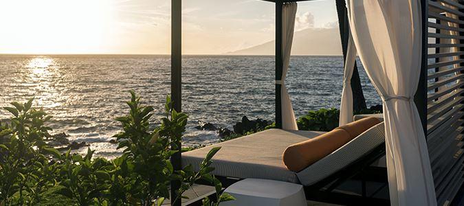 Cabana at Sunset