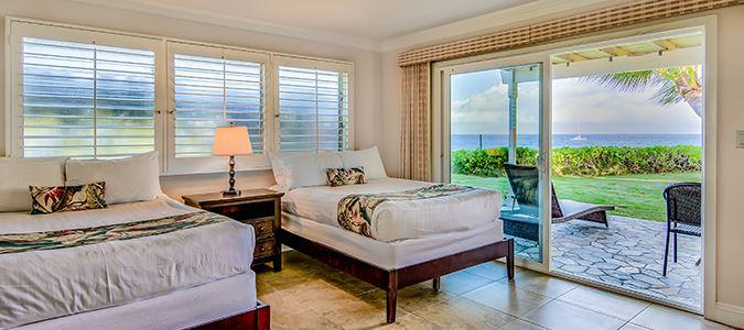 Deluxe Oceanfront Cottage