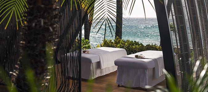 Oceanfront Spa Cabanas