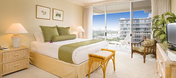 One Bedroom One Bath Oceanview Suite