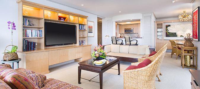 Two Bedroom Two Bath Oceanfront Premium Suite