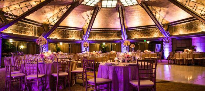 Aztec Ballroom Wedding Reception