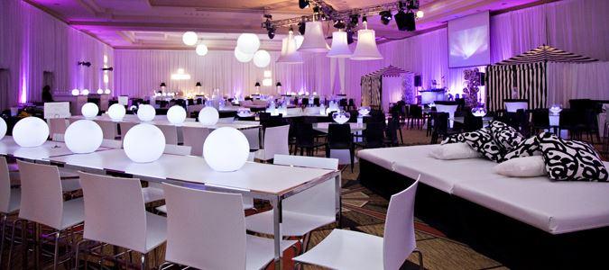 McArthur Ballroom Wedding Reception