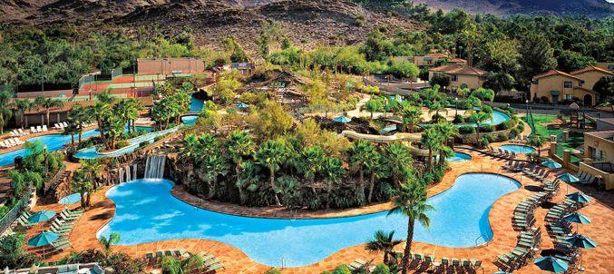Aerial of Pools