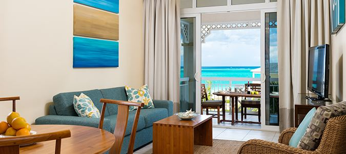 One Bedroom Ocean Queen Suite