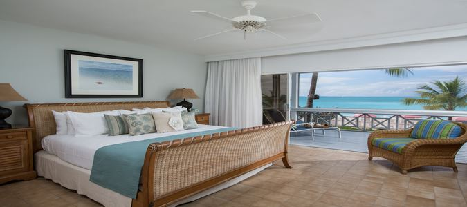 Two Bedroom Beachfront Suite Bedroom