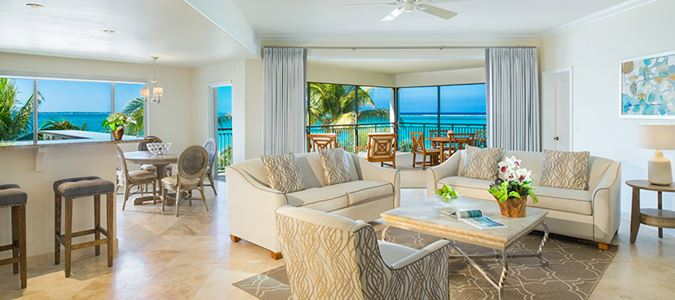 Three Bedroom Oceanfront Suite
