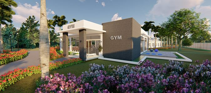 Fitness Studio Rendering