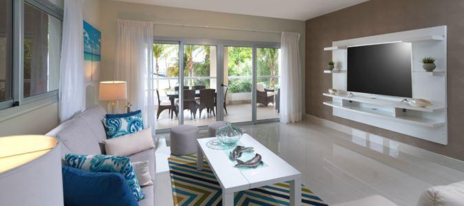 Luxury Condo Living Room