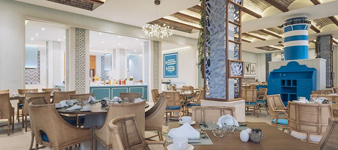 Buffet Restaurant Rendering