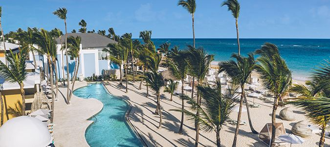 Pool and Beach Club Rendering