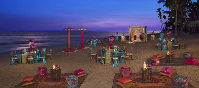 Hindu Beach Wedding Gala
