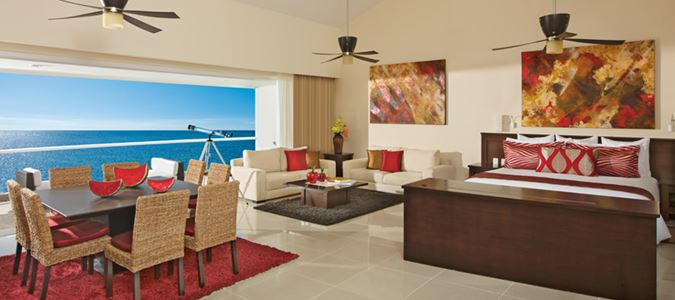 One Bedroom Presidential Suite Oceanview