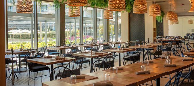 Mediterranean Restaurant Rendering