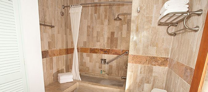 One Bedroom Suite Bath