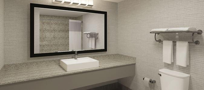 North Tower Guestroom Bath