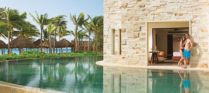 Preferred Club Junior Suite Swim Oceanfront
