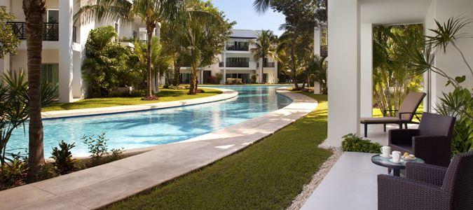 One Bedroom Pool Walkout Suite