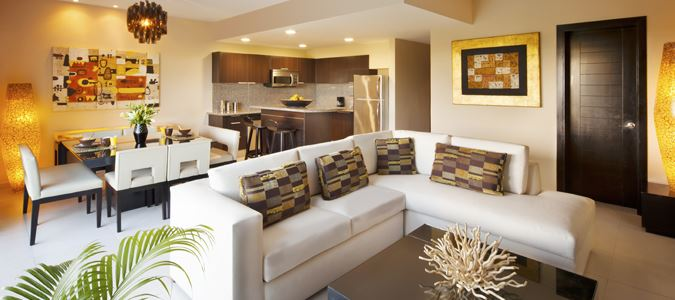 Sky Suite Living Room