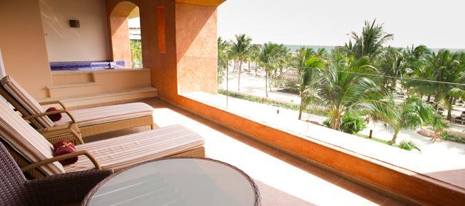 Presidential Suite Ocean Front Club Premium