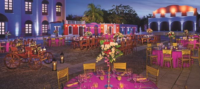 Mexican Theme Reception