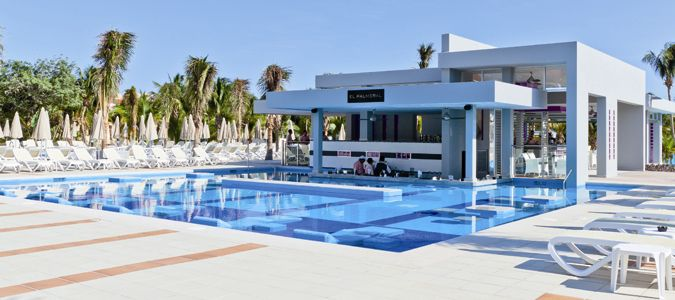 Pool and El Palmeral Swim Up Bar
