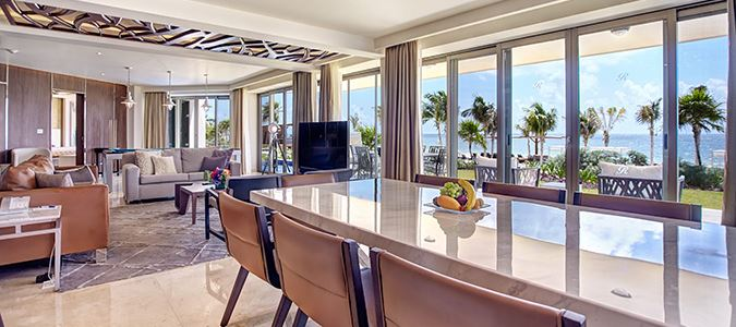 Diamond Club Luxury Chairman's Two Bedroom Suite Oceanfront