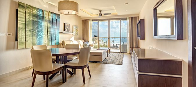 Diamond Club Luxury Presidential Two Bedroom Suite Swim Out