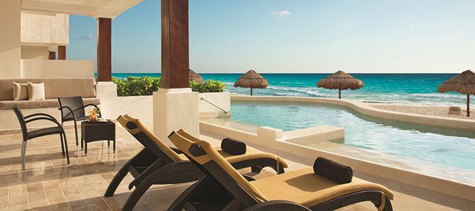 Preferred Club Master Suite Beachfront Swim Out