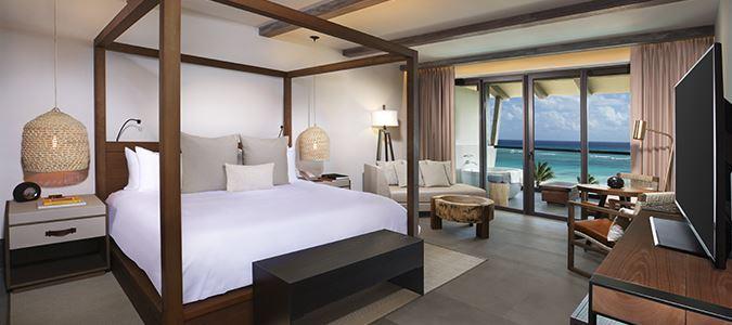 Alcoba Oceanfront Guestroom