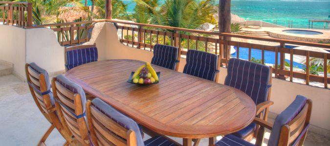 Villa Dining Terrace