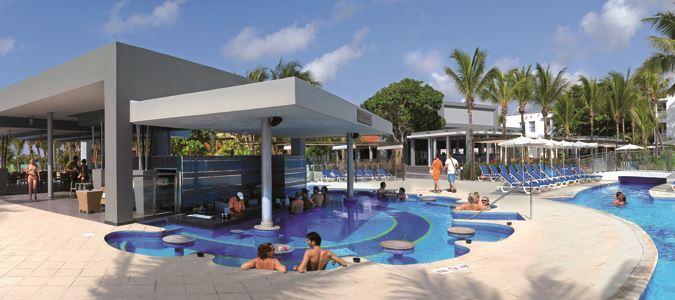 Pool and Cozumel Swim Up Bar