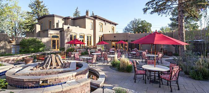 The Fuegeo Restaurant Patio