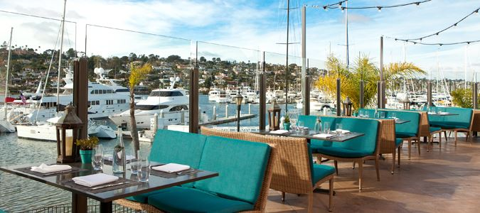Vessel Restaurant Terrace