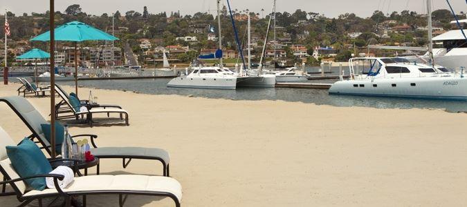 Beach and Marina