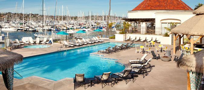 Pool and Marina