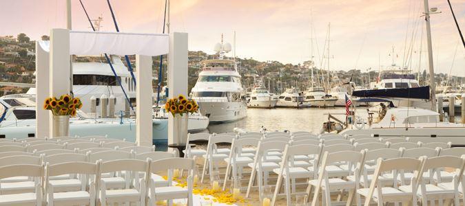 Weddings at the Marina