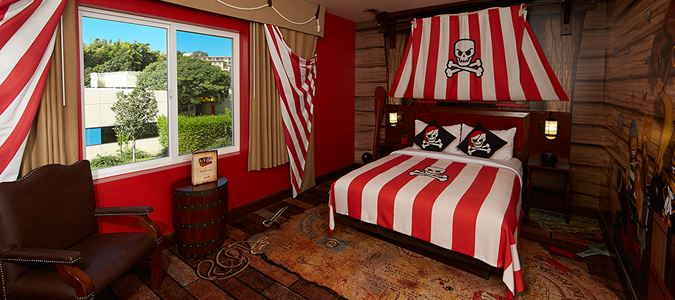 Pirate Premium Themed Guestroom