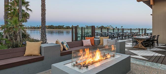 Tidal Restaurant Deck