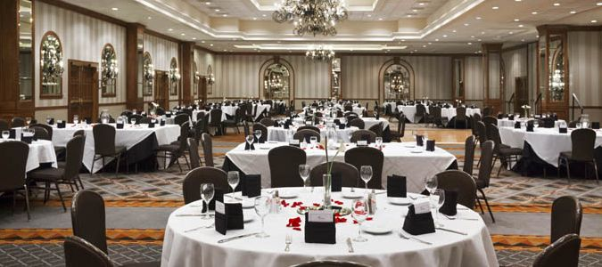 Texas Ballroom Wedding Reception