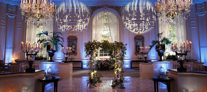 Wedding Receptions at The Georgian