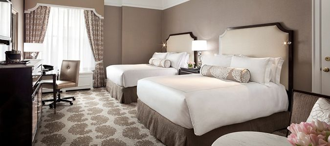 Fairmont Guestroom with Sofa Bed