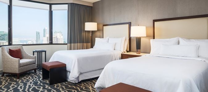 Grand Deluxe Double City View Guestroom