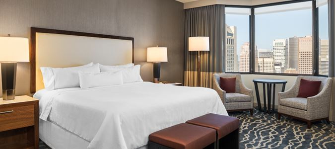 Grand Deluxe King City View Guestroom